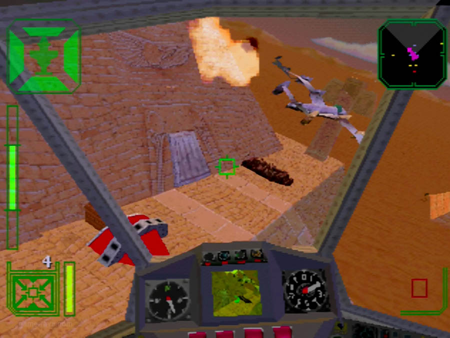 PSX Interactive Sampler CD Volume One Warhawk Screenshot (10)