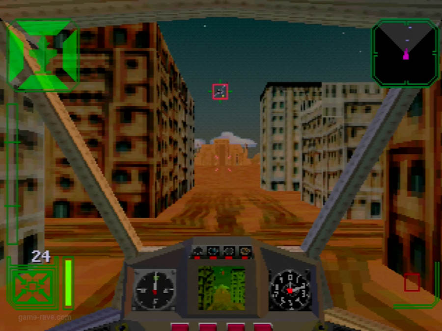 PSX Interactive Sampler CD Volume One Warhawk Screenshot (4)