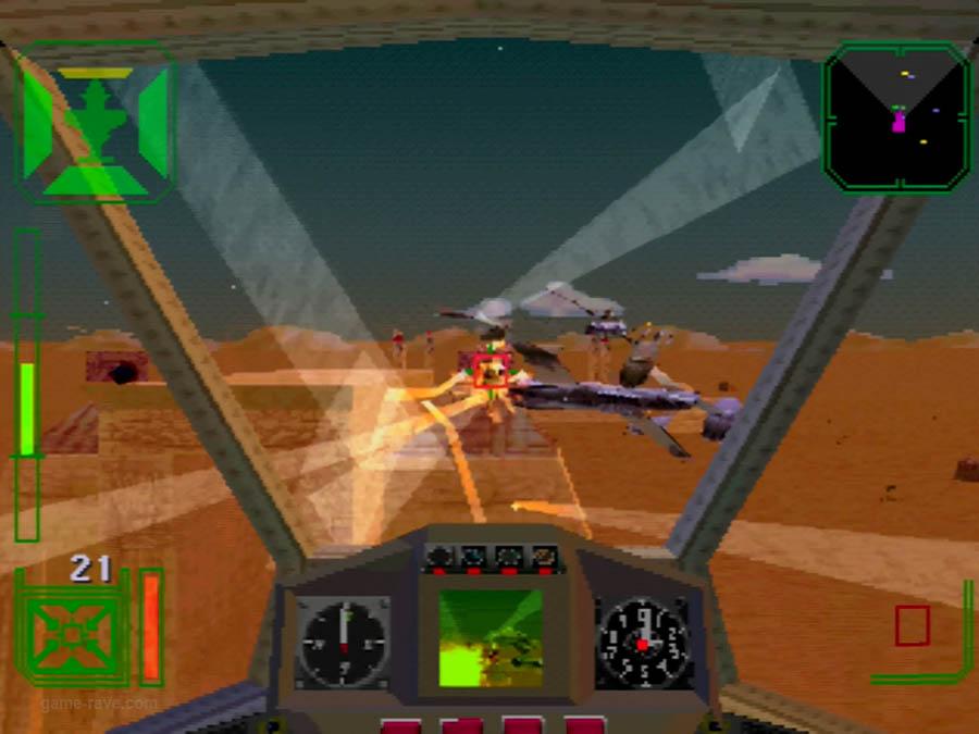 PSX Interactive Sampler CD Volume One Warhawk Screenshot (5)