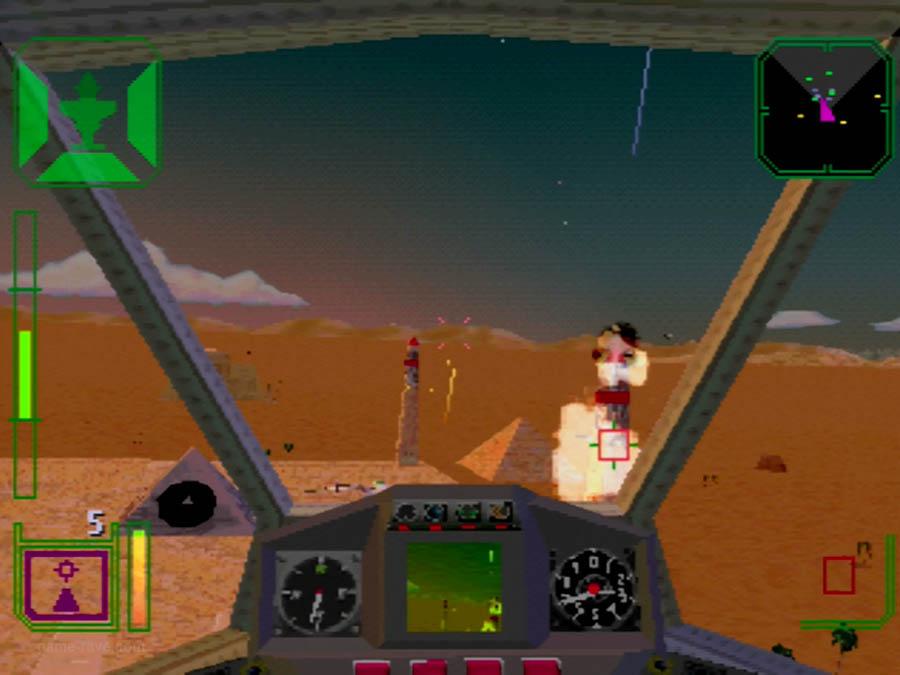 PSX Interactive Sampler CD Volume One Warhawk Screenshot (6)