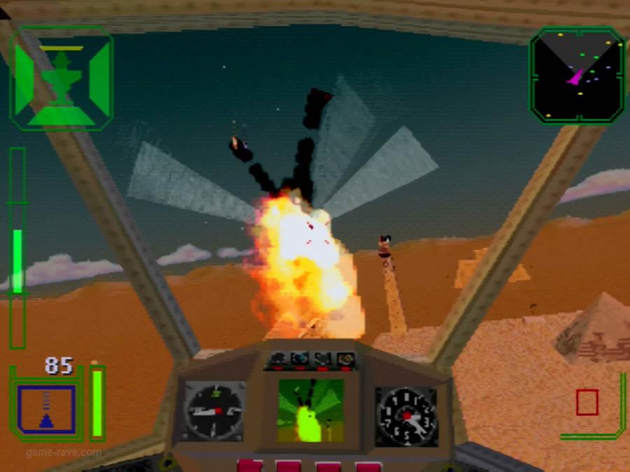 PSX Interactive Sampler CD Volume One Warhawk Screenshot (7)