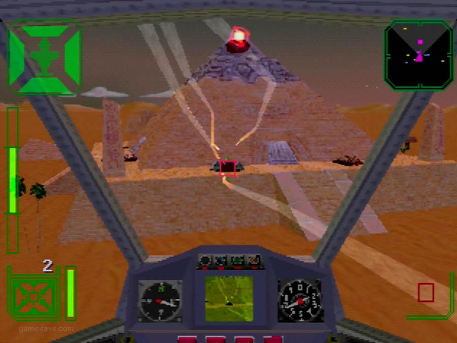 PSX Interactive Sampler CD Volume One Warhawk Screenshot (8)