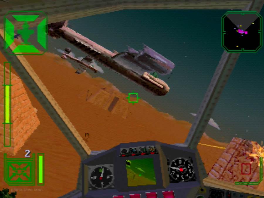 PSX Interactive Sampler CD Volume One Warhawk Screenshot (9)