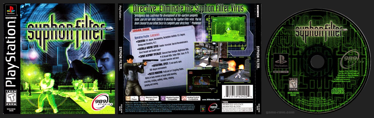 PSX Syphon FIlter Release