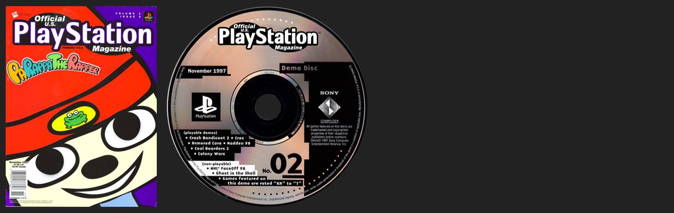 Official PlayStation Magazine Demo Vol. 2 - November 1997 Demo Disc