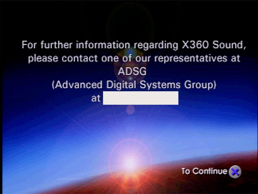 X-360 Demo Screen Shot 16