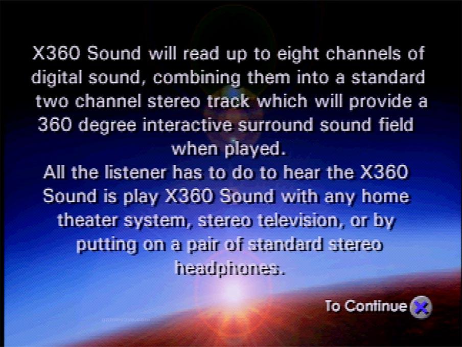 X-360 Demo Screen Shot 17