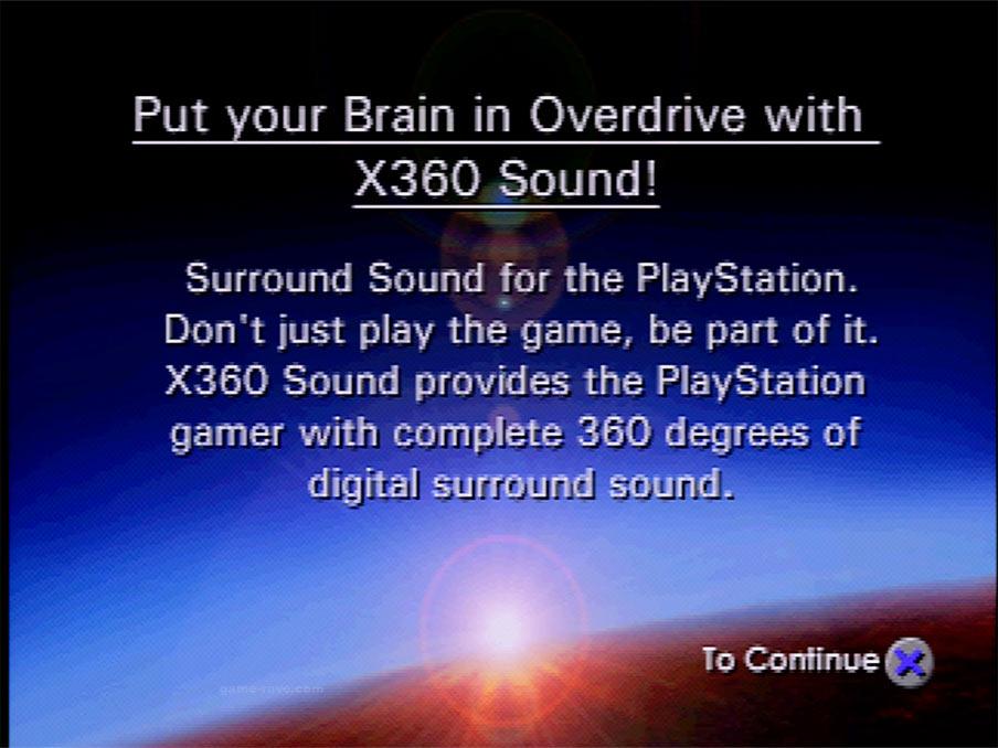X-360 Demo Screen Shot 18