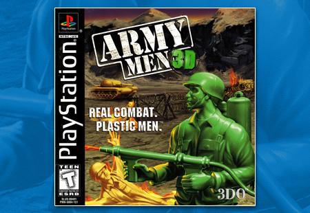 Army Men 3D Manual