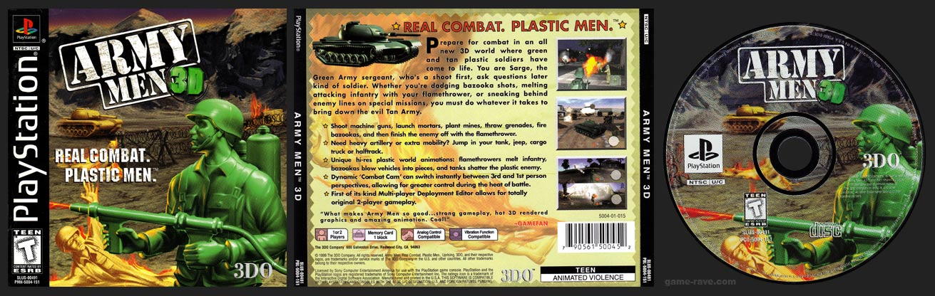 Army Men 3D Black Label Release