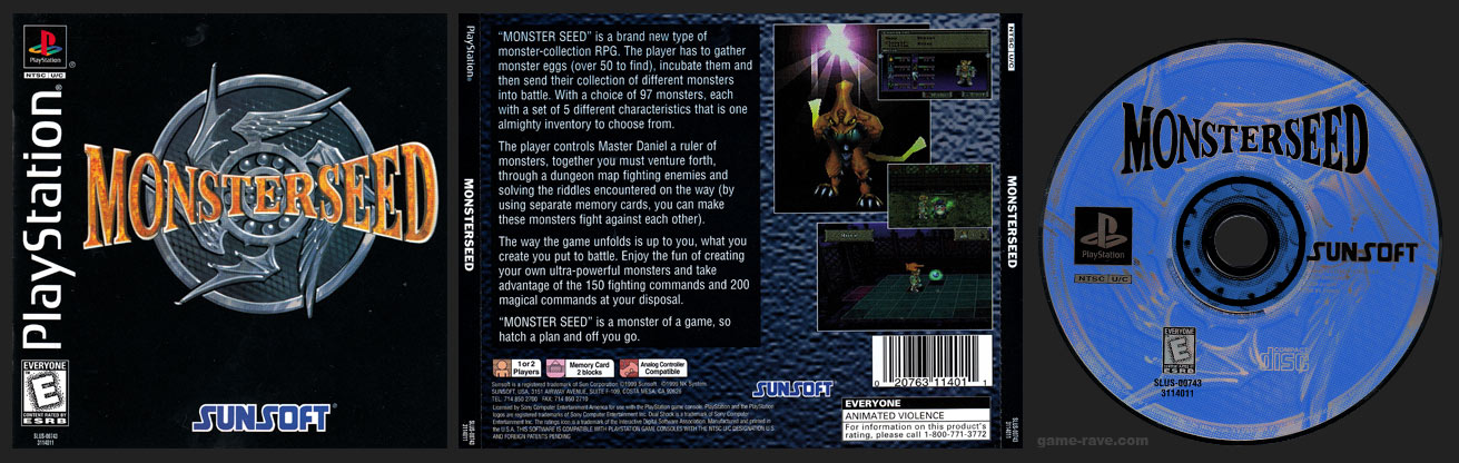 PSX Monsterseed