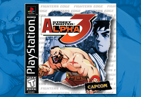 PSX Street Fighter Alpha 3