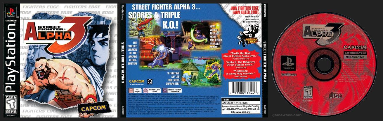 PSX Street Fighter Alpha 3