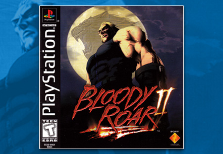 PSX Bloody Roar II manual