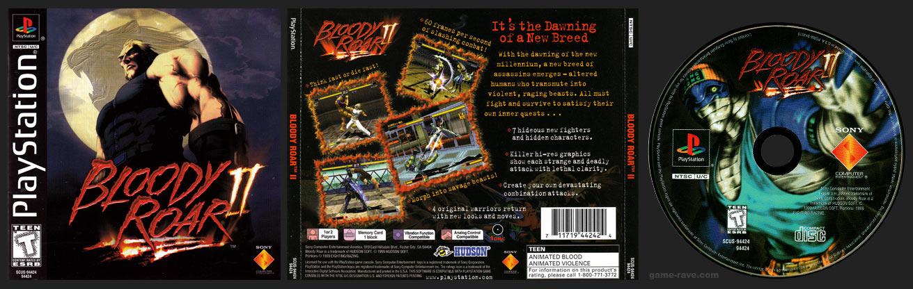 PSX Bloody Roar II Release