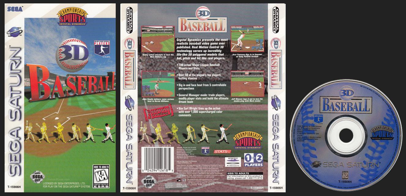 Saturn 3D Baseball