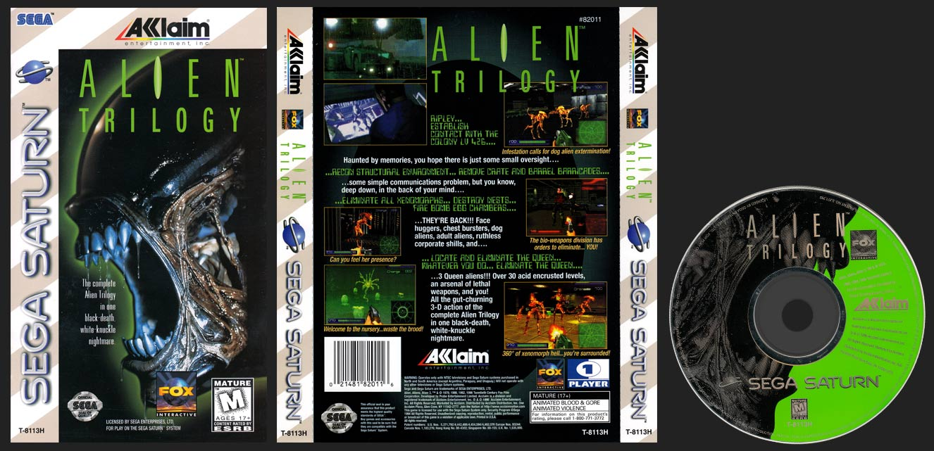 SAT Alien Trilogy