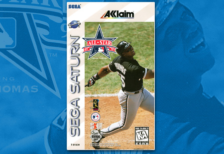 Sega Saturn All-Star Baseball 1997