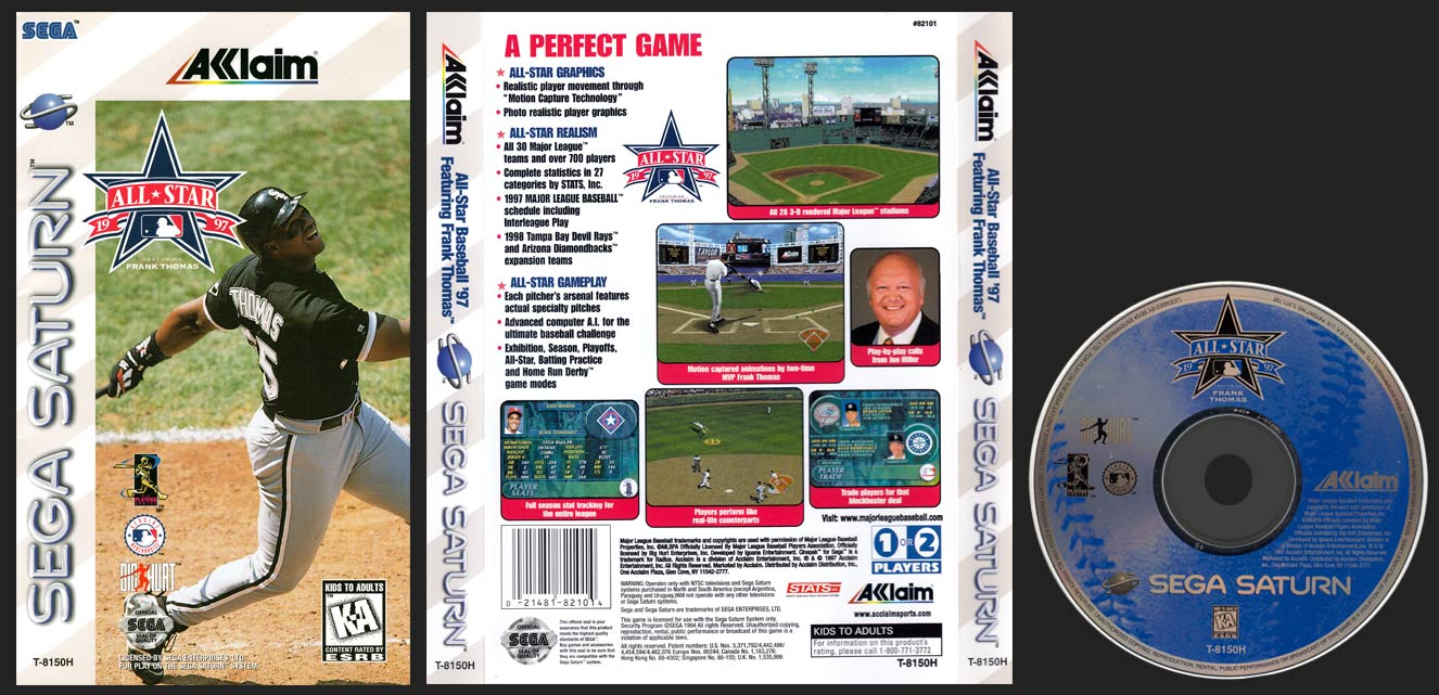 Sega Saturn All-Star Baseball 97