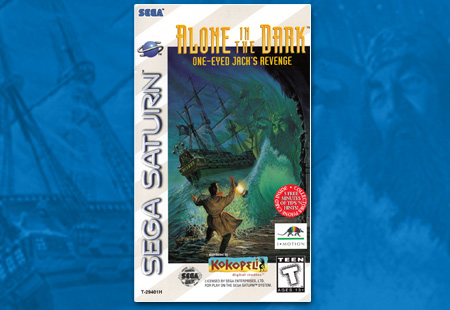 Sega Saturn Alone in the Dark 2