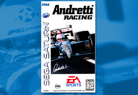 Sega Saturn Andretti Racing
