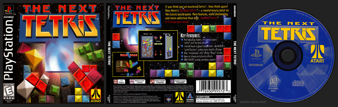 PSX The Next Tetris
