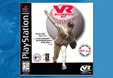 PSX VR Baseball '97