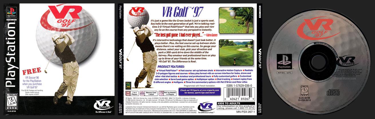 PSX VR Golf '97