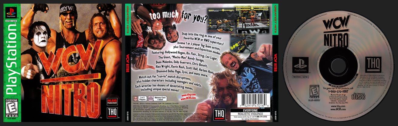 PSX WCW Nitro Greatest Hits