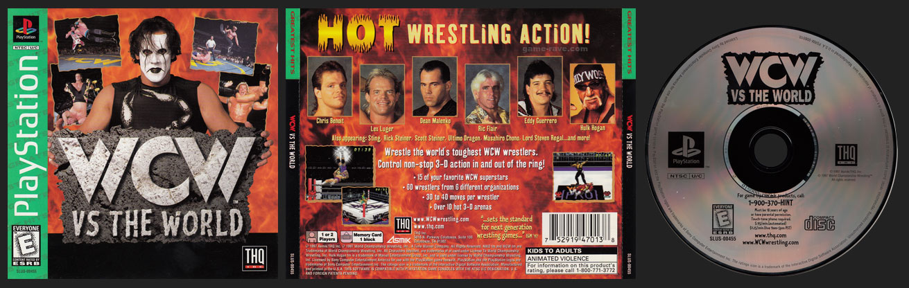 WCW Vs The World Greatest Hits Release