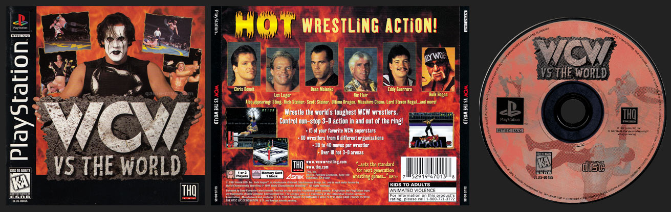 PSX WCW Vs The World