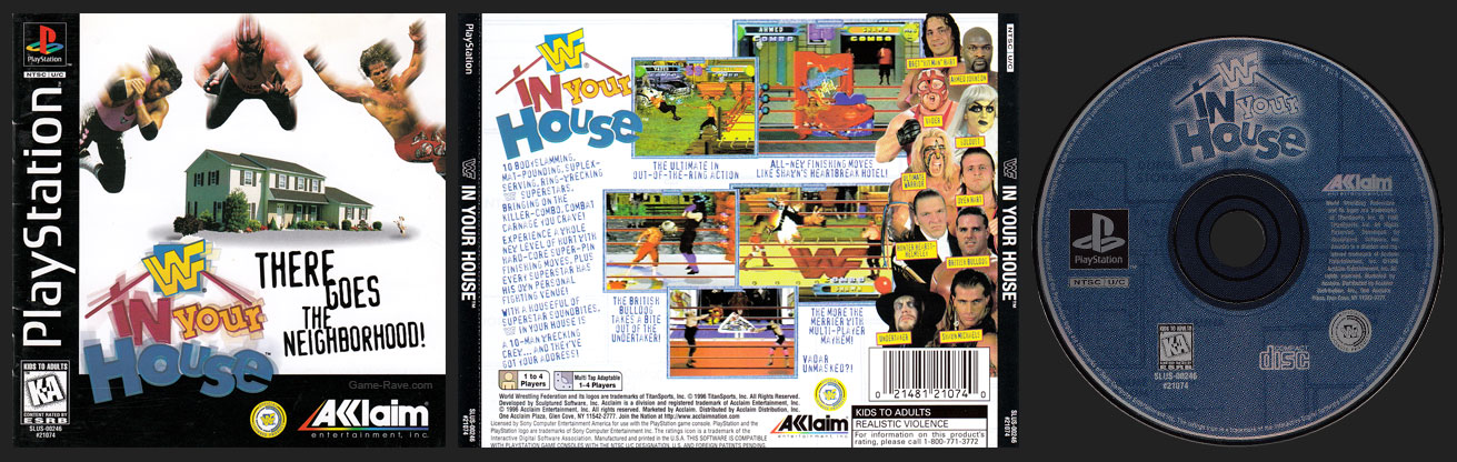 PSX WWF In Your House