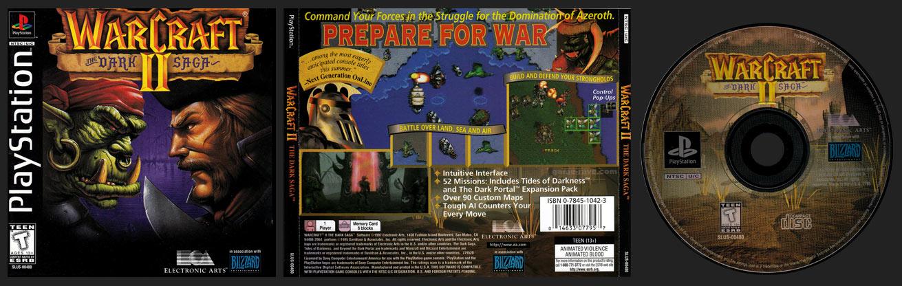 PSX Warcraft II The Dark Saga
