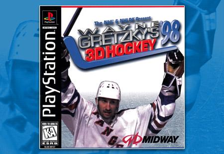 PSX Wayne Gretzky's 3D Hockey '98