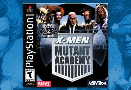 PSX X-Men Mutant Academy
