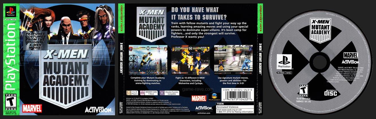 PSX X-Men Mutant Academy Greatest Hits