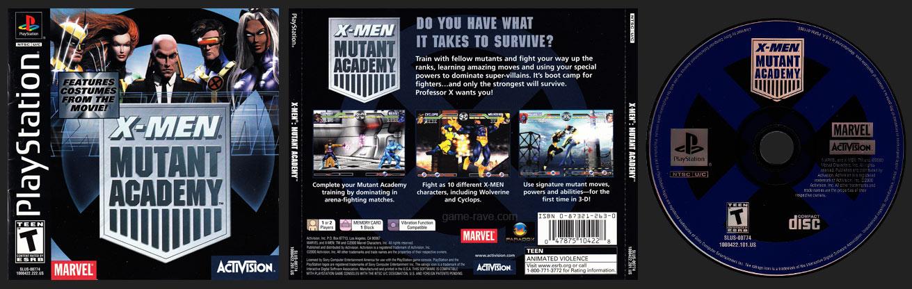 PSX X-Men Mutant Academy Regular Release