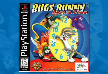 PSX Bugs Bunny: Lost in Time