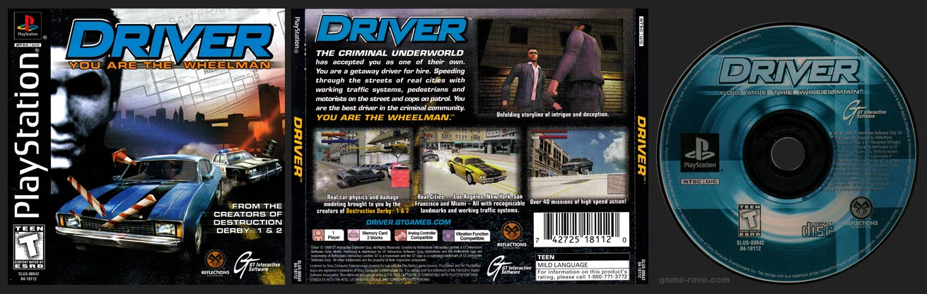 PSX Driver Black Label