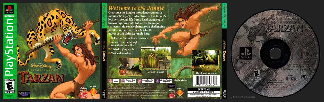 PSX Disney's Tarzan Greatest Hits Sony Release