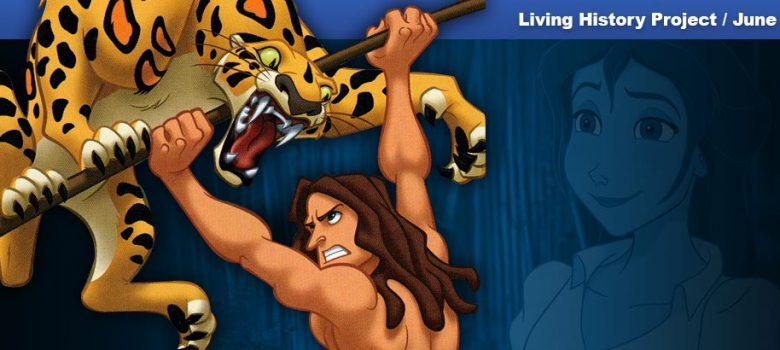 PlayStation Tarzan and Bugs Bunny