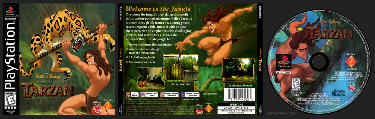 PSX Disney's Tarzan Black Label Retail Release
