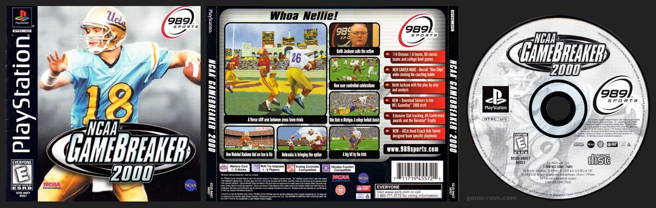 PSX NCAA GameBreaker 2000