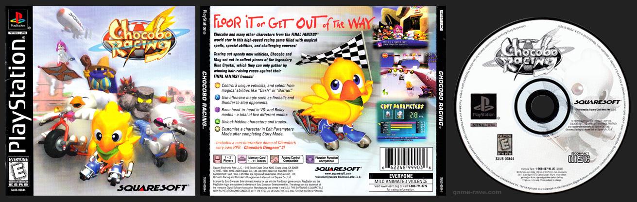 PSX Chocobo Racing