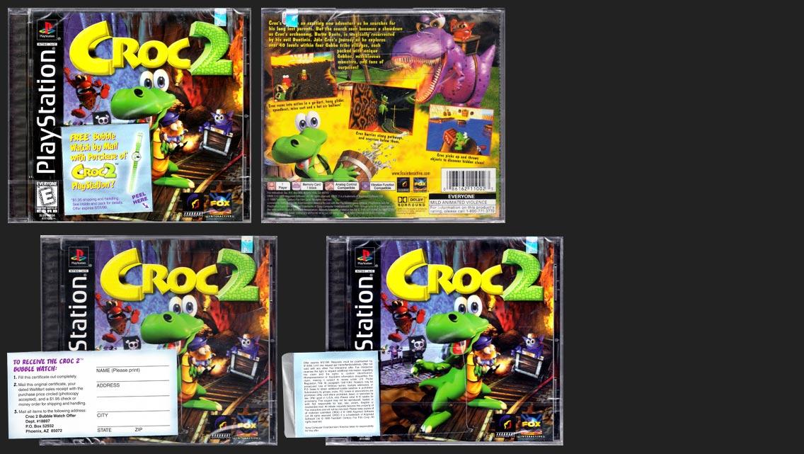 PSX Croc 2 Bubble Watch