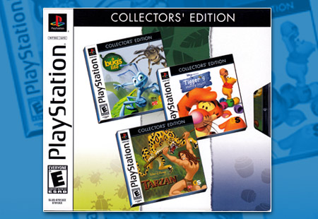 PSX Disney Action Games Collector's Edition 3 Pack
