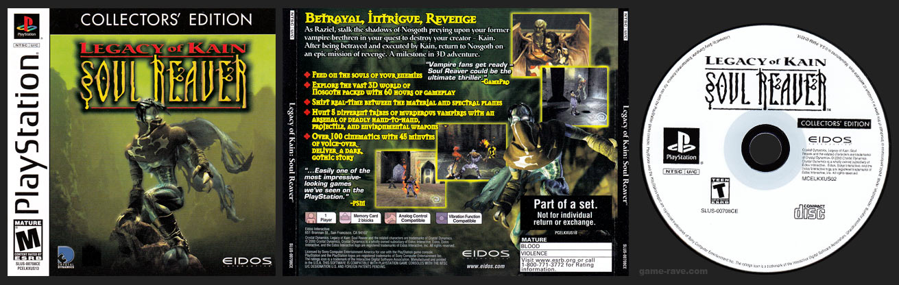 PlayStation Legacy of Kain Soul Reaver