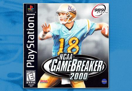 PlayStation NCAA Game Breaker 2000