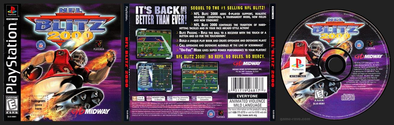 PlayStation NFL Blitz 2000