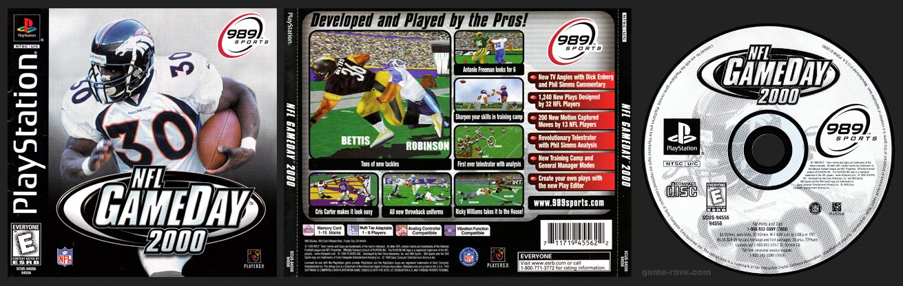 PlayStation NFL GameDay 2000